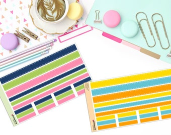 RIBBON WASHI SET Paper Planner Stickers!