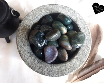 Bloodstone Crystals | Tumbled Blodstone Crystals | Crystals and Stones | Earth Element Crystals | Root Chakra Crystals
