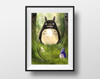 Poster - My neighbor Totoro
