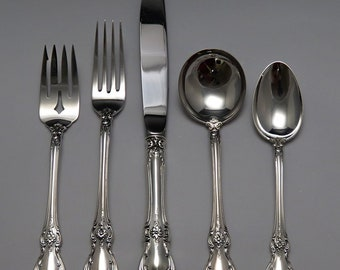 Great 41pc Towle Sterling Silver Old Master Flatware Set Service for 6