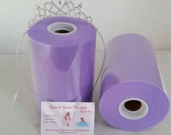 Rouleau de tulle, lavande,souple, haute qualité, pour la confection de robes et de jupes tutus, princesse Sofia
