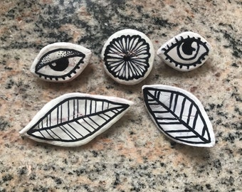 Hand-made Brooches