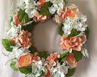 Spring Wreath - Spring Wreaths for Front Door - Spring Door Wreath - Front Door Wreaths - Summer Wreaths for Front Door - Summer Wreath