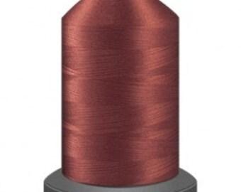 Auburn thread, quilting thread, sewing machine thread, glide thread, sewing thread, 1000m cone, brown thread, polyester thread