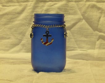 Blue Anchor themed Jar