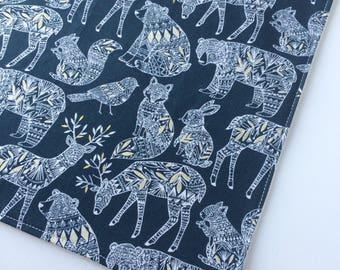 Forest Dreaming Washcloth - Bamboo Washcloth - Facecloth - Washcloth - Bath & Beauty - Woodland Wash Cloth - Baby Shower Gift - Deer