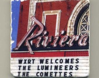 Riviera in Uptown Chicago -  Original Coaster