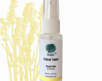 Yellow Toner (Rose Water & Royal Jelly)