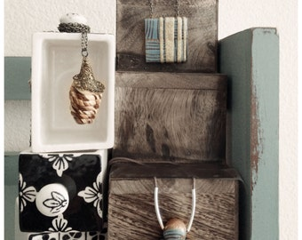 Patinas - small fun pendent neck pieces