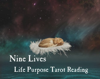 Nine Lives Tarot Reading   Dive Into Your DNA & Discover Your Cosmic Purpose