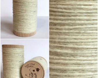 Moire Rustic Wool Thread #100 for Embroidery, Wool Applique and Punch Needle Embroidery