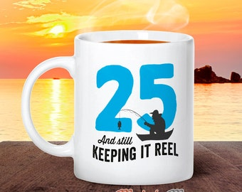 25th Birthday, 1990 Birthday, Fishing Birthday, 25th Birthday Gift, 25th Birthday Idea, Happy Birthday, 25th Birthday Gift for 25 year old