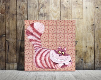 Canvas Print of The Cheshire Cat from Alice in Wonderland