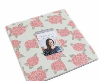 "Bayberry Layer Cake by Kate & Birdie Paper Co. for Moda, 42 - 10"" squares"