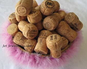 45 Champagne Corks, All Natural Corks, Recycled Corks, Used Corks, Wine Wedding, Sparkling Wine, Wine Party, Cork Crafts