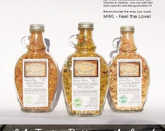 Kitchen Home Spice Blends - Gourmet Pantry Whole Food Market - Artisan Herb Spice & Veggie Blends - Dip Mix BBQ Grill Rub Salad Dressing Mix