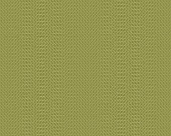 Sequoia Fabric - Andover Fabric - Half Yard - Elegant Burlap Foothills Green Edyta Sitar Laundry Basket Quilts Fabric A-8626-G