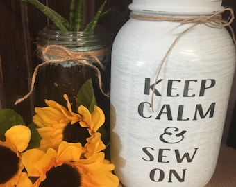 Keep Calm & Sew On