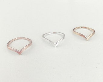 Chevron ring