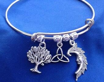 Path of Life Charm Bracelet