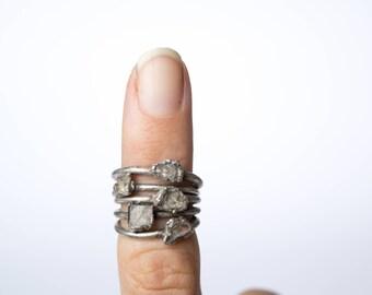 Raw Topaz ring   Topaz crystal ring   Utah Topaz Ring   Raw Topaz crystal ring   Topaz and Copper Ring