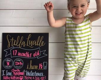 Baby Chalkboard