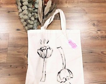 FLORAL // TOTE