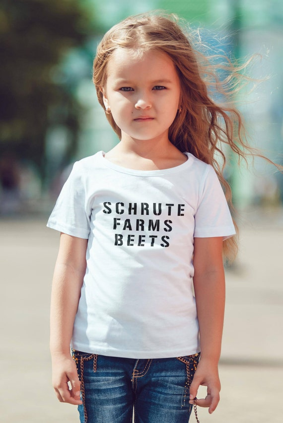 "The Office ""Schrute Farms Beets"" Kids Shirt 2T-XL  Available"