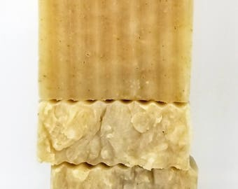 All Natural Oatmeal Soap for Sensitive Skin