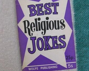 Best Religious Jokes - A Wolfe Mini Ha-Ha Book