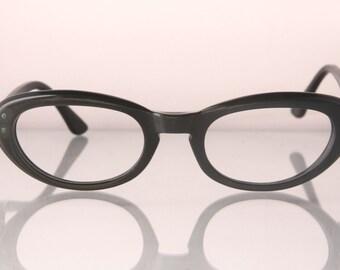 1960s rounded cat eye glasses, Lola's Cafe