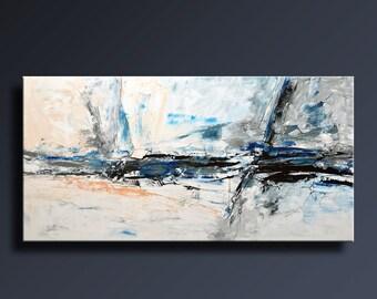 Abstrakte Bilder Auf Leinwand 75 große original abstrakte schwarz weiß grau