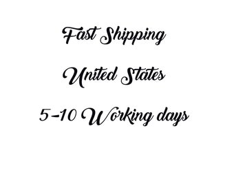 Fast Shipping. United States