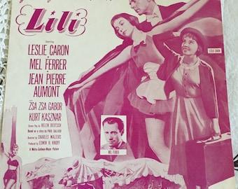 Vintage 1937 Hi-Lili, Hi-Lo Sheet Music