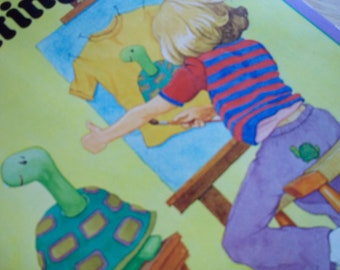 1977 Painting for Ages 8 and Up Craft Book