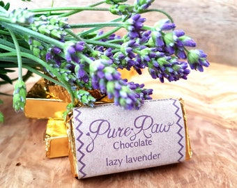 Pure Raw Chocolate - Lazy Lavender