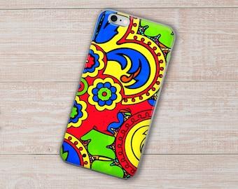 African iPhone Case, Phone Case, Geometric Case, iPhone 8 Case, iPhone 8 Plus Case, iPhone X Case, iPhone 7 Plus Case, iPhone 6 Case