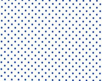 Petit Point Azur Fabric by Michael Miller