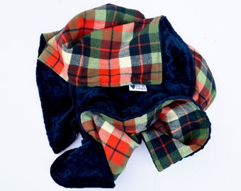 The Perfect Autumn Plaid Blanket