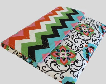 Microsoft Surface Case, Surface Book Case, Surface Sleeve, Surface Cover, Surface Pro 2 3 4 RT Case Chevron Flower