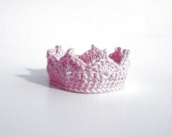 Newborn Baby Girl Photo Prop Hat  CROCHET PATTERN Baby Girl Clothes Princess Headband Crown Take Home Outfit Baby Shower Gift Tiara Crown