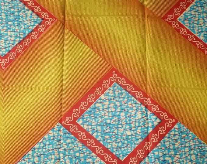 African Fabrics Cotton Block Wax Prints Sold By Yard 151273814227