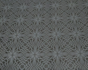 Black on Black-Kaleidoscope Cotton Fabric from Timeless Treasures