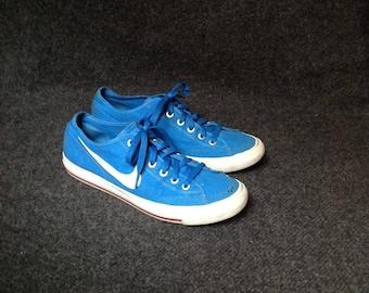 Nike Janoski Sneakers Cobalt Blue Canvas Womens 10 Mens 8,5 EU 41