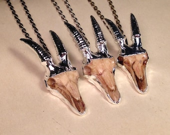 RESTOCK SALE 15 OFF - Silver Baphomet Pendant Necklace