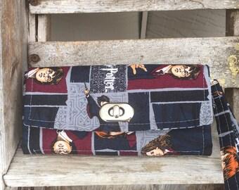 Harry Potter Wallet / Clutch / Iphone Wallet