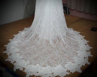 Custom Made Lace Bodice Fitted Wedding Dress Gown Lottie Dress