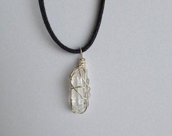 Clear Quartz // Clear Quartz Necklace // Crystal Jewelry