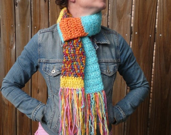 Candy Colored Scarf