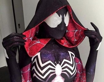 New Marvel Venom-Gwen / Gwen Stacy 3D Printing Costume